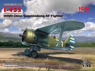 Polikarpov I-153 WWII China Guomindang Air Force Fighter #ICM48099