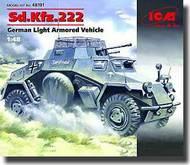ICM Models  1/48 Sd. Kfz.222, German Light Armoured Vehicles ICM48191