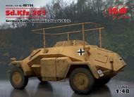 ICM Models  1/48 WWII German Sd.Kfz 261 Radio Communication Vehicle (New Tool) ICM48194