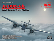 Junkers Ju.88?-6b WWII German Night Fighter #ICM48239