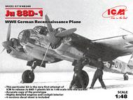 WWII German Ju.88D-1 Reconnaissance Aircraft #ICM48240