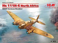 Heinkel He.111H-6 North Africa, WWII German Bomber #ICM48265