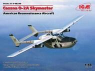 Cessna O-2A Skymaster American Recon Aircraft (New Tool) (JUL) #ICM48290