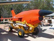Q-2C (BQM-34A) Firebee with trailer  (1 airplane and trailer) #ICM48401