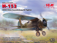 Polikarpov I-153, WWII China Guomindang AF Fighter #ICM72076