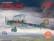 Polikarpov U-2/Po-2VS WWII Soviet Light Night Bomber (100% new molds) #ICM72243