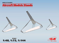 Aircraft Models Stands (1:48, 1:72, 1:144) (100% new molds) #ICMA001