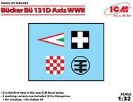 Bucker Bu.131D Axis WWII Italy, Croatia and 2 x Hungary #ICMD32001