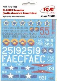 Douglas B-26B/C Invader (Latin America Countries) #ICMD48003