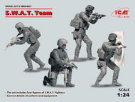 ICM Models  1/24 S.W.A.T. Team (4 figures) Diorama Set ICMDS2401