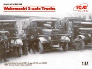 ICM Models  1/32 Wehrmacht 3-axle Trucks ICMDS3508