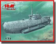 ICM Models  1/72 WWII U-Boat Type XXVIIB Seehund (Early) German Midget Submarine ICMS006
