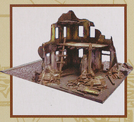 Imex Models  1/72 Bombed Out Building   IMX6508