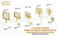 Infini Models  1/350 WW2 US Navy Radar Set INFIMP35004R1