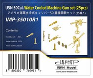 Infini Models  1/350 US Navy .50 Cal Water Cooled Machine Gun Set (25 pcs) INFIMP35010R1