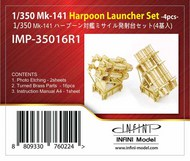 Infini Models  1/350 Mk.141 Harpoon Launcher Set INFIMP35016R1