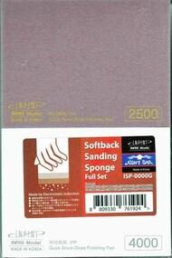 Softback Sanding Sponge Full Set (220, 400, 600, 800, 1000, 1500, 2500 & 4000 Grit) #INFISP0000G