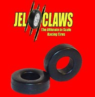 INNOVATIVE HOBBY SUPPLY  1/64 Rubber Racing Tires for Aurora Dune Buggy (front/rear) & Hot Rod (rear) (10) IHS2040