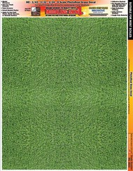 INNOVATIVE HOBBY SUPPLY   N/A Multi-Scale Modeling SkinZ PhotoReal Peel & Stick Decals: Green Grass IHS3833