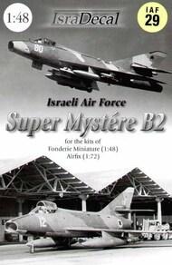Dassault Super Mystere B.2. Israeli Air Force #IAF29