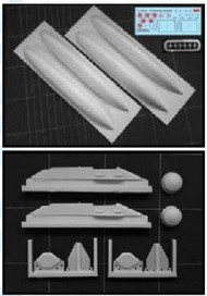 IsraDecals  1/32 600 Gallon Fuel Tanks for F16 Fighting Falcon (Resin) (D)<!-- _Disc_ --> ISD32015