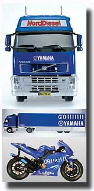 Italeri  1/24 Yamaha Racing Team Truck & Trailer ITA3823