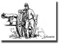 American Civil War Union Artillery #ITA6038