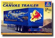 Italeri  1/24 New Canvas Trailer ITA745