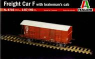Italeri  1/87 Freight Car F with Brakeman's cab ITA8703