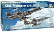 Italeri  1/32 F-104G/S Starfighter Supersonic Interceptor Aircraft Upgraded Edition w/Orpheus Recon Pod ITA2514