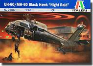 Italeri  1/48 UH-60A Black Hawk Night Raid Helicopter ITA2706