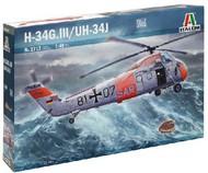 Italeri  1/48 H34GIII/UH34J Combat Helicopter ITA2712