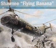 Italeri  1/48 H-21C Shawnee Flying Banana Gunship Helicopter ITA2774