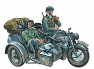 KS750 Zundapp Motorcycle w/Sidecar & Crew #ITA317