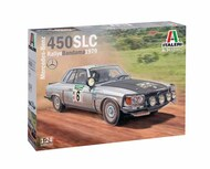 Italeri  1/24 Mercedes-Benz 450SLC Rallye Bandama 1979 ITA3632