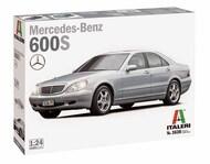 Italeri  1/24 Mercedes-Benz 600S CHROMED PARTS - COLOR INSTRUCTIONS SHEET ITA3638