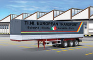 Italeri  1/24 Canvas Trailer ITA3908