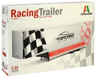 Italeri  1/24 22-Ft Fifth Wheel Racing Transport Trailer ITA3936
