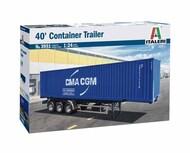 Italeri  1/24 40ft Container Trailer ITA3951
