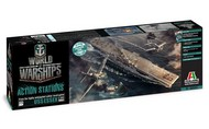 Italeri  1/700 World of Warships: USS Essex Aircraft Carrier (D)<!-- _Disc_ --> ITA46503