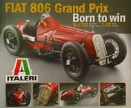 Italeri  1/12 Fiat 806 Grand Prix Race Car ITA4702
