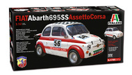 Italeri  1/12 FIAT Abarth 695SS/695SS A. Corsa ITA4705
