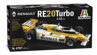 Italeri  1/12 1/12 Renault RE20 Turbo Formula 1 Race Car ITA4707
