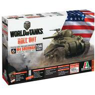 Italeri  1/56 World Tanks Sherman ITA5503
