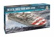 Italeri  1/35 M.A.S. 568 4a Series with Crew ITA5626