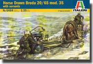 Horse Drawn Breda 20/65 Mod. 35 with crew #ITA6464