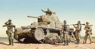 M14/41 Medium Italian Tank w/Infantry #ITA6543
