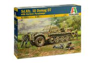 Sd.Kfz. Demag D7 with Paratroopers ITA6561