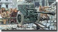 WWII Pak 40 Anti-Tank Gunw/ German Soldiers #ITA6879