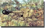 Italeri  1/32 WWII ZIS 3 Anti-Tank Gun w/ Russian Soldiers ITA6880